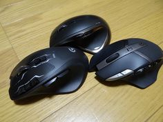 Logicoolマウス増設 G700S RECHARGEABLE GAMING MOUSE G602 Wireless Gaming Mouse  Ooe-office,atelier 2015/01/14