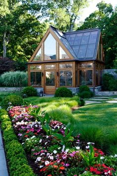 Gorgeous Glass Greenhouse