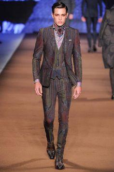 Etro Fall 2014 Menswear Collection