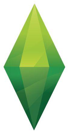 Resultado de imagem para plumbob the sims 4 The Sims, Sims Cc, Sims Free Play, Play Sims, Cristal Art, Mobile Logo, 4 Wallpaper, Diamond Tattoos, Sims 4 Cc Finds
