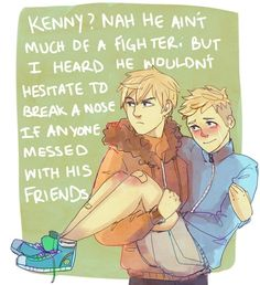 South park, kenny mccormick, and yaoi image