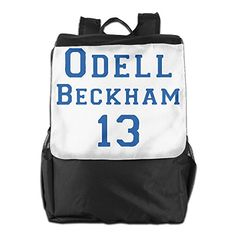 Odell Beckham 13 Womens Black Casual Compact School Adjustable Strap Shoulder Bag ** For more information, visit image affiliate link Amazon.com
