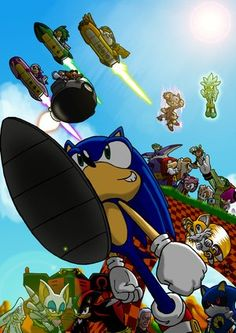 Sonic_the_Hedgehog_and_friends_by_dashal.png