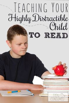 Somedays it feels impossible to teach my highly distractible son how to read. Can you relate?  I've found a few tricks through the years both as a homeschool mom and a former 1st grade teacher.  See how they can help you, too!