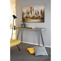 Consolle moderna Idea Home Creativity Kras E Piano, Console Table, Entryway Tables, Entrance, Sweet Home, House Design, House Styles, Creative, Furniture