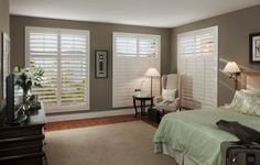 Eclipse Shutters interior plantation shutters backed by a 25-year warranty.