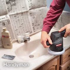 Beau How To Clean Kitchen And Bathroom Countertops | Remove Stains, Marbles And  Household