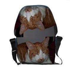 smiley cat messenger bag courier bags