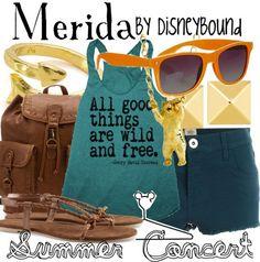 Disney Bound: Merida (Brave)