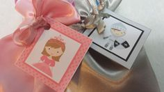 PARTY PACK Sets of 6 to 12 - Princess Favor Bags and Knight Silver Favor Bags (Filled) by TeatotsPartyPlanning on Etsy
