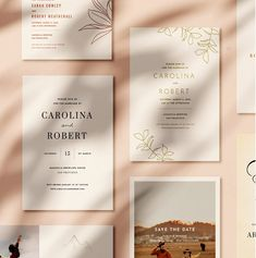 Beautiful Invitations, Edit Instantly - StudioDawn Co. – Studio Dawn Co. Mountain Wedding Invitations, Acrylic Wedding Invitations, Botanical Wedding Invitations, Wedding Invitation Design, Wedding Stationery, Invitation Set, Shower Invitations, Invites, City Wedding Venues