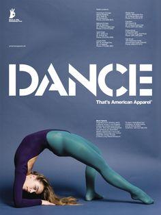American Apparel poster.