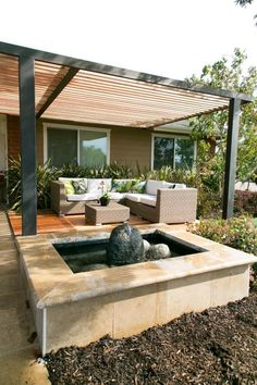 Pergola For Small Backyard Key: 6142462616 Wood Pergola, Pergola With Roof, Pergola Shade, Pergola Patio, Pergola Plans, Outdoor Landscaping, Pergola Kits, Outdoor Decor, Patio Grill