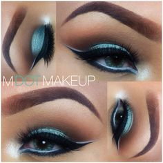 MAC Steamy cat eye makeup by IG: MDOTMAKEUP