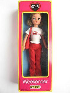 Sindy WEEKENDER AUBURN DOLL 1977 MINT IN BOX | Vintage Pedigree Sindy