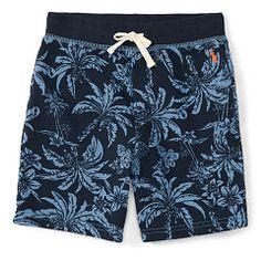 Tropical Cotton Terry Short - Boys 2-7 Pants & Shorts - RalphLauren.com