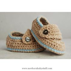 Crochet Baby Booties Baby Loafers - Folksy