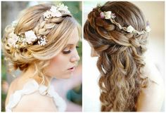 how to wear flower crown - Google Search