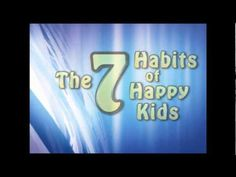 The 7 habits of happy kids news network (habits *Would love to do something like this, but would also ask students for examples of how they do each. Seven Habits, 7 Habits, Classroom Behavior, Classroom Management, Behavior Management, Habits Of Mind, Kids News, Teaching Social Skills, Leader In Me