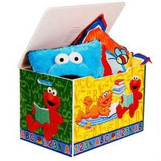 Toy Boxes For Boys Room - Sesame Street Elmo Room In A Box