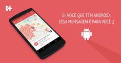 O Aplicativo HospitalPlus chegou para Android! • H+ • Hospital+ • Design Mobile • Android