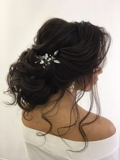 Featured Hairstyle: Elstile; www.elstile.ru; Wedding hairstyles ideas. #weddinghairstyles