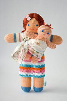Babywearing Mommy Doll
