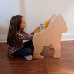 Gorilla Chair from The Child's Menagerie Furniture Collection by Paloma's Nest