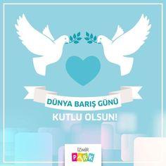 Sevgi dolu bir dünyaya barışı hep birlikte getirebilmek dileğiyle, 1 Eylül Barış Günü'nüz kutlu olsun!