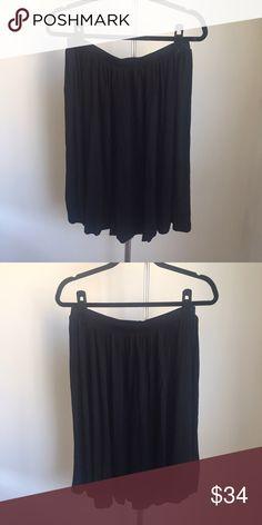 NWT ASOS Black Knit Skater Skirt w Elastic Waist NWT ASOS Black Knit Skater Skirt w Elastic Waist ASOS Skirts