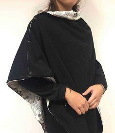 Réalisez facilement un poncho chaud et douillet.