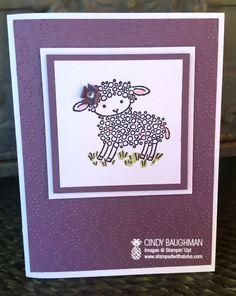 Easter Lamb - www.stampedwithaloha.com