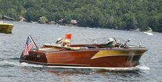 Hammondsport, NY classic boat and woody show