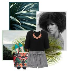 """""""Tropical Mix"""" by r-maggie ❤ liked on Polyvore featuring Zara, Ted Baker, Topshop, MANGO, Dorothy Perkins and Retrò"""