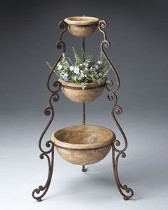 Tiered Planter at Horchow. Tiered Planter at Horchow. The post Tiered Planter at Horchow. appeared first on Best Of Daily Sharing. Tiered Planter, Wrought Iron Decor, Metal Planters, Wall Planters, Succulent Planters, Concrete Planters, Hanging Planters, Succulents Garden, Iron Furniture