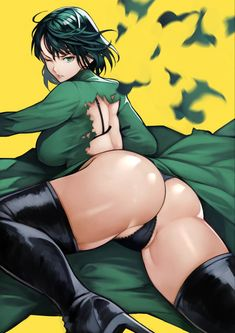 One Punch Man Anime, Yellow Background, Manga Girl, Anime Girls, Green Eyes, Anime Art, Illustration Art, Animation, Draw