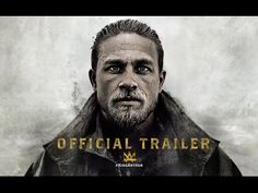 "Charlie Hunnam stars in KING ARTHUR: LEGEND OF THE SWORD, directed by Guy Ritchie - in theaters May --- Acclaimed filmmaker Guy Ritchie brings his dynamic style to the epic fantasy action adventure ""King Arthur: Legend of the Sword. Jude Law, Charlie Hunnam, All Movies, Great Movies, I Movie, Eric Bana, Guy Ritchie, New Trailers, Movie Trailers"