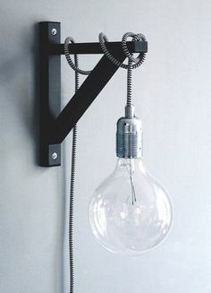 Nice way to create a DIY lamp.