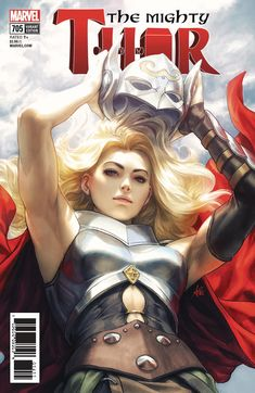 The Mighty Thor #705 (2018) The Mighty Thor Variant Cover by Artgerm