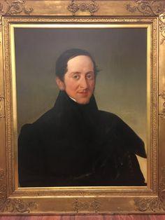 "Johann Matthias Ranftl ""Porträt eines Mannes Öl auf leinwand 75 x 63 cm - AV-Pfandhaus Shop Av, Mona Lisa, Artwork, Painting, Oil On Canvas, Graphics, Art, Work Of Art, Painting Art"