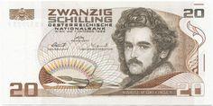 20 Schilling 1986 (Daffinger) Österreich Zweite Republik
