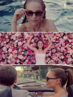 "Natalie Portman in ""La Vie En Rose"" for Miss Dior Dior Couture, Liam Neeson, Jean Reno, Nathalie Portman Style, Ewan Mcgregor, Christian Dior, Audrey Tautou, Miss Dior, Penelope Cruz"