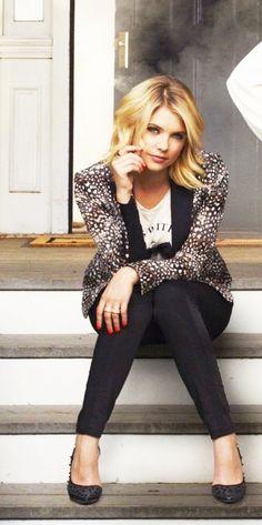 Hanna Marin played by Ashley Benson