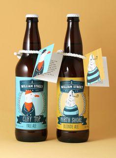 Luke Despatie & The Design Firm - WILLIAM STREET BEER CO. #Packaging #Design #Beer — World Packaging Design Society / 世界包裝設計社會 / Sociedad Mundial de Diseño de Empaques