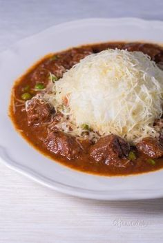 Mexický guláš No Salt Recipes, Meat Recipes, Mexican Food Recipes, Chicken Recipes, Cooking Recipes, Healthy Recipes, Czech Recipes, Food 52, Main Meals