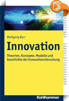 Innovation    ::  Innovationen sind eine der zentralen Determinanten für wirtschaftliche Entwicklung und Wachstum von Unternehmen. Das Innovationsmanagement ist deshalb eine der zentralen Führungsaufgaben. Die Innovationsforschung ist seit längerem empirisch-quantitativ geprägt. In diesem Werk wird hingegen die theoretisch-konzeptionelle Perspektive betont, die als Grundlage für empirisch-quantitative Studien unerlässlich ist. Deshalb werden zentrale betriebs- und volkswirtschaftliche ...