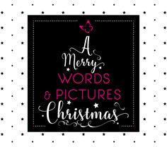 Typografie  |  WORDS & PICTURES Hand Lettering, Merry, Calm, Words, Artwork, Pictures, Design, Typography, Photos