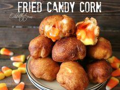 Fried Candy Corn!