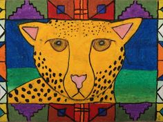 a faithful attempt: Ndebele African Animal Drawings