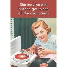 This could be me a reckon... I had the same record player and I got to see some bands are no longer around.